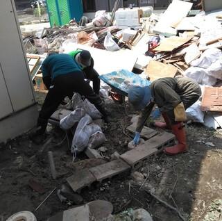 災害支援ボランティア活動報告(7月28日豪雨災害)