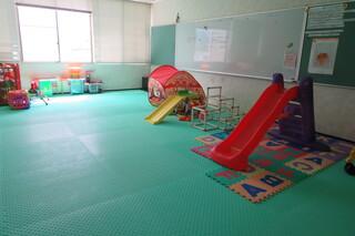 健康長寿センター「子どものひろば」で遊べます。