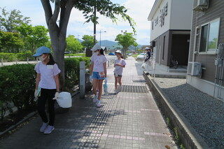 「小学生ぼらんてぃあひろば ぴよっこ」沖郷ぴよっこの活動を紹介します。