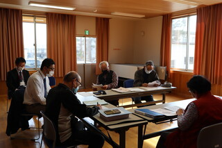 梨郷支部社協三役会が開催されました