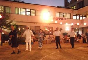 多数のご参加ありがとうございました。「納涼盆踊り」の報告です。
