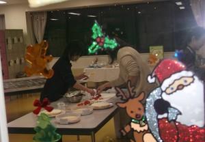 デイケア「Xmas 夜カフェ」開催!