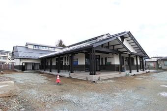 天童市立成生公民館が完成し、引渡しを終えました。