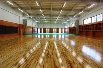 山形電波工業高等学校の新体育館が完成です!!