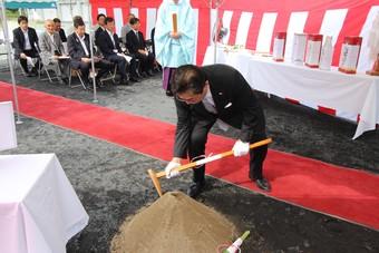 寒河江市の特別養護老人ホーム長生園の第1期改築工事がスタートしました!