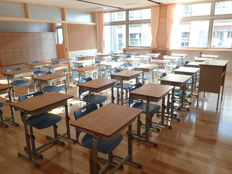 中山町立中山中学校新校舎・屋内運動場が完成しました! Part.2