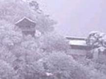 山寺 冬景色